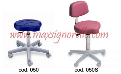 Stool/chair - with backrest