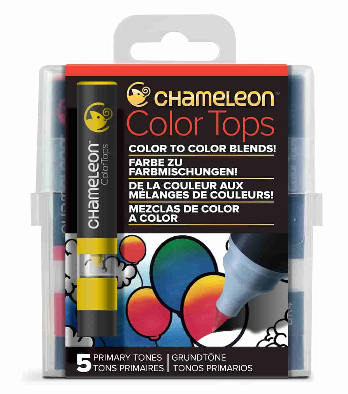 Chameleon Colour Tops Primary Tones Set