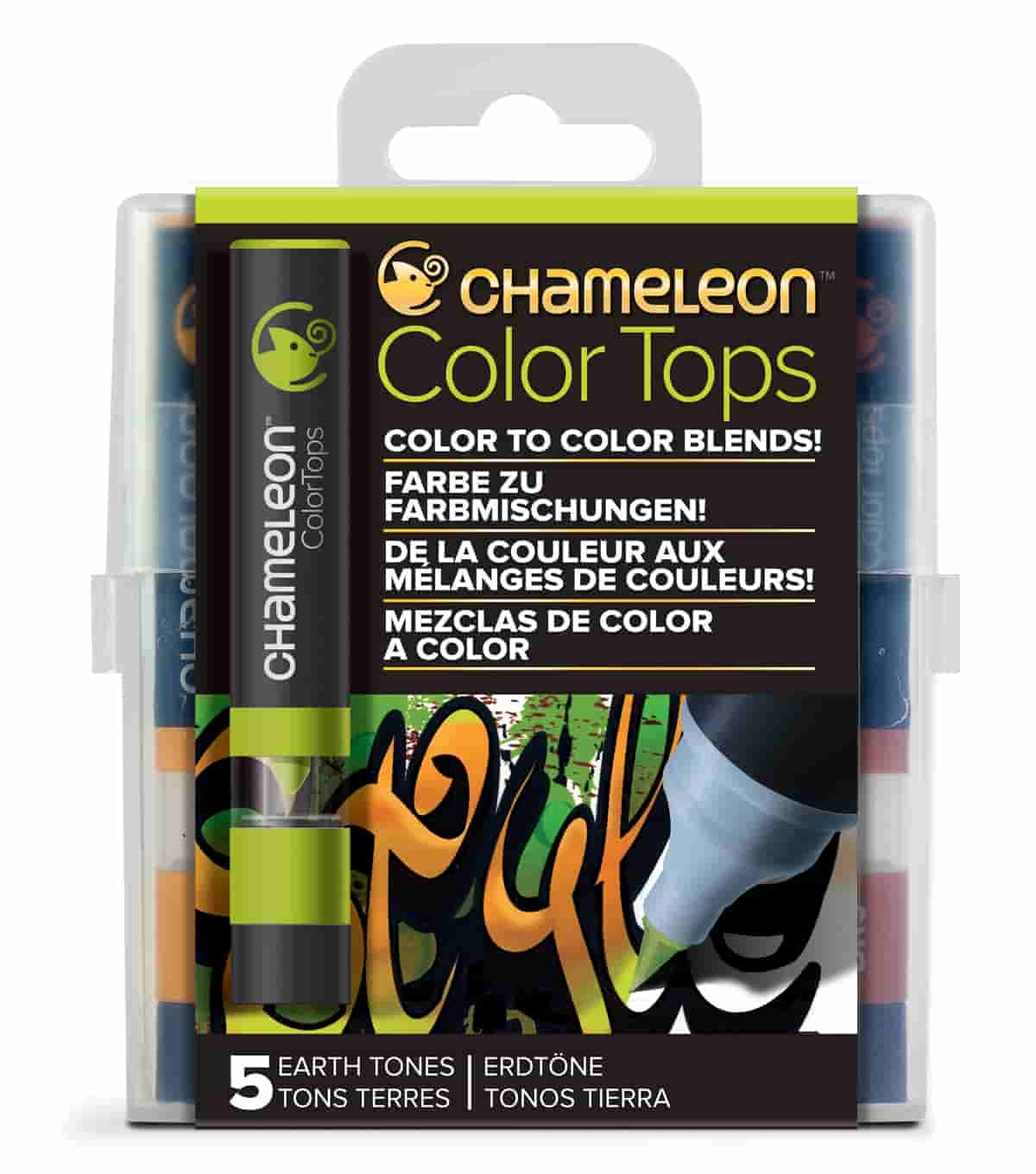 Chameleon Colour Top Earth Tones Set