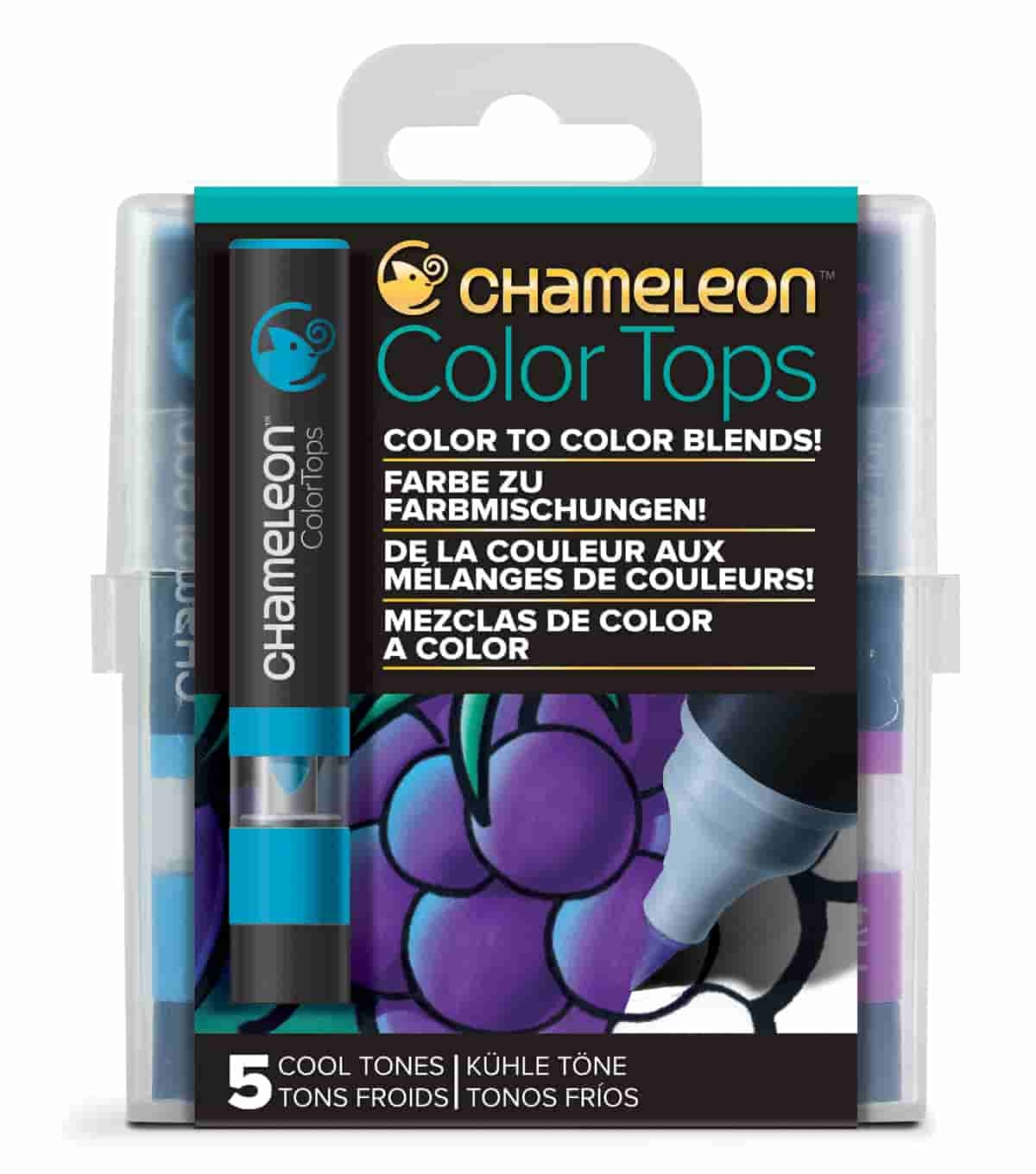 Chameleon Colour Top Cool Tones Set