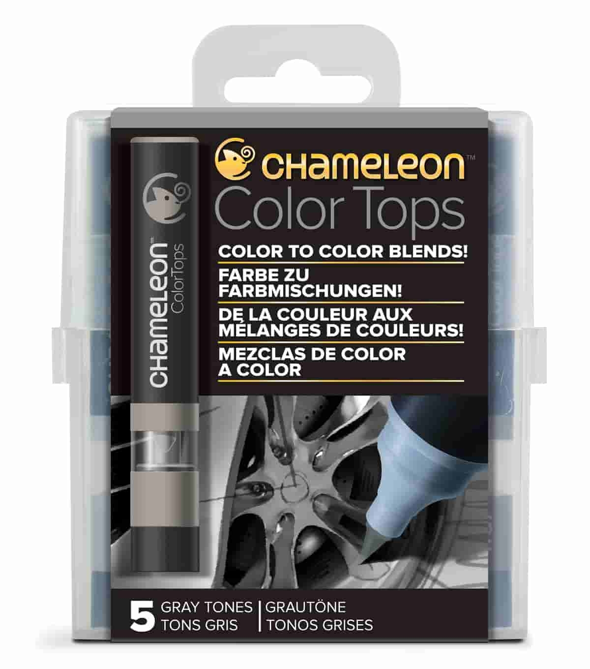 Chameleon Colour Top Gray Tones Set