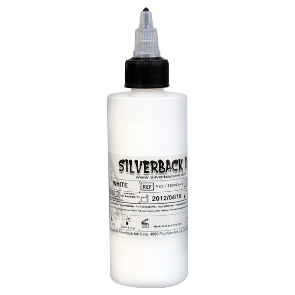 Silverback Ink White - 120ml