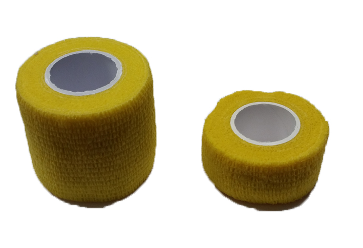 Self-adhesive bandage Yellow