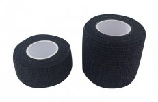 Self-adhesive bandage Black