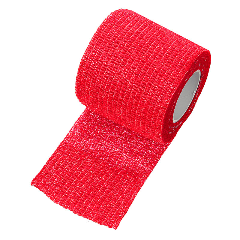 Self-adhesive bandage Red
