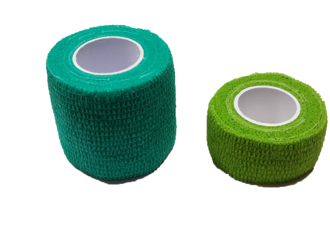 Self-adhesive bandage Green
