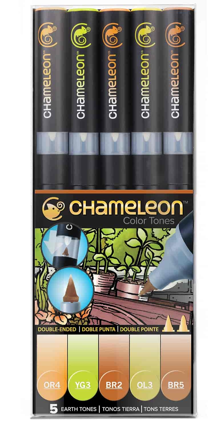 CHAMELEON - EARTH TONES