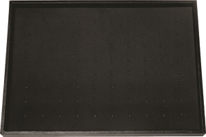 DISPLAY TRAY WITH 80 METAL CLIPS