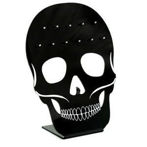 Acrylic Skull Stand for 12 Septums