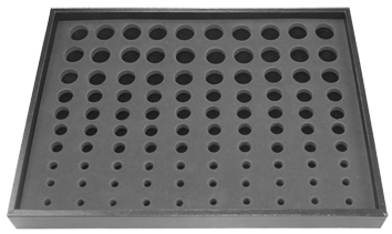 SMALL DISPLAY TRAY FOR PLUGS 100 PLUGS - 6-24MM