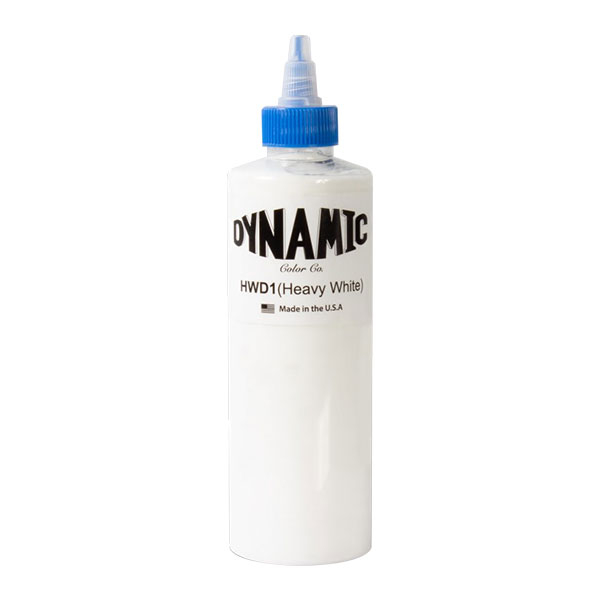 Dynamic Ink Heavy White - 240ml
