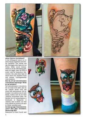 Tattoo Spirit - Eik Schumann - Tattoo Vorlagen Vol.1