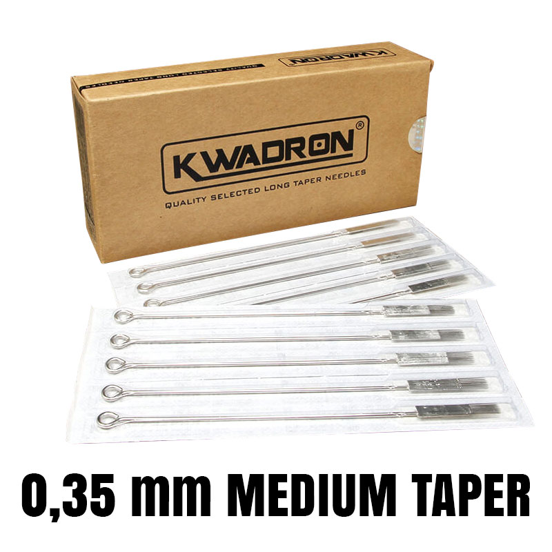 Aghi Kwadron 0,35 Medium Taper