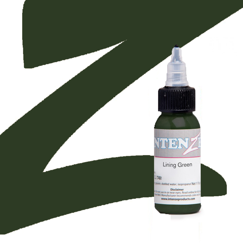 Lining Green - Intenze - 30ml