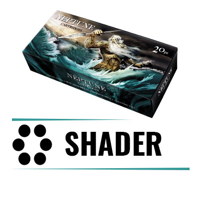 Cartucce Neptune Shader - Box 20pz