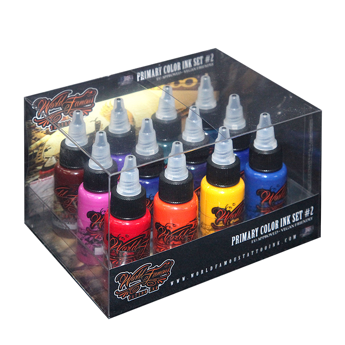 World Famous Primary Color Ink Set #2 - 30ml - 12pz