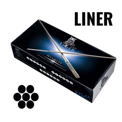 Round Liner Needles Silver Series