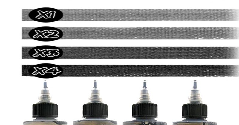 Silverback Ink XXX Grey Wash Series - 120ml SET