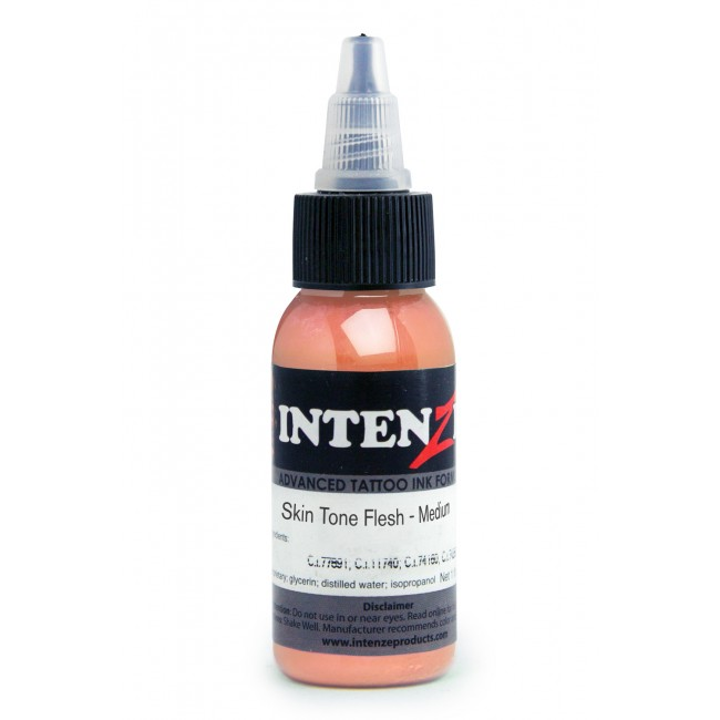 Skin Tone Flesh Medium - Intenze - 30ml