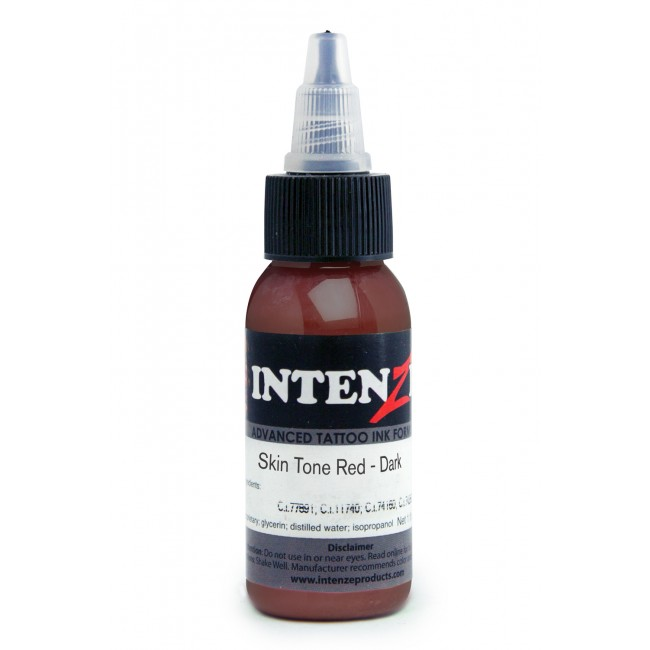 Skin Tone Red Dark - Intenze - 30ml
