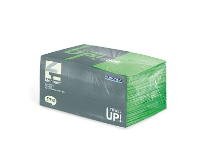 Professional Disposable Wipes Green 50 pcs.