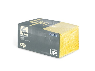 Professional Disposable Wipes Yellow - 50pcs