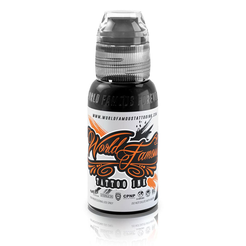 Pitch Black - World Famous - 30ml